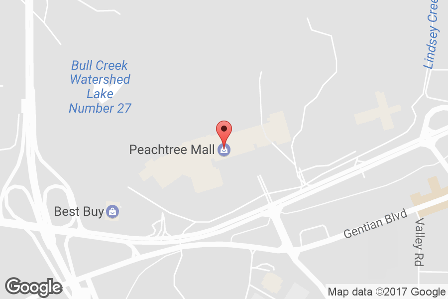 Map of Peachtree Mall - Click to view in Google Maps